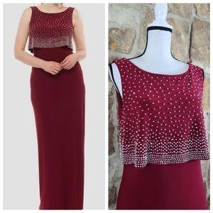 Joseph Ribkoff 12 Vanessa Studded Dress Gown